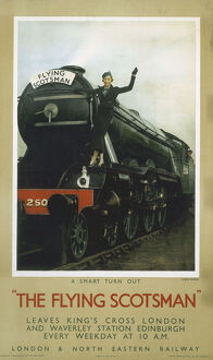 The Flying Scotsman', LNER poster, c 1935