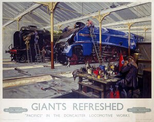 'Giants Refreshed', BR poster, 1947.