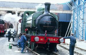 This Great Northern Railway locomotive was designed by Ivatt and built by Sharp Stewart