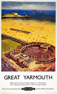 'Great Yarmouth', BR (ER) poster, 1959.