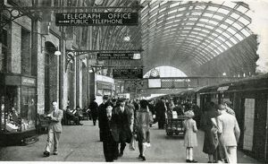 King's Cross station, London, British Railways, c1949-1950