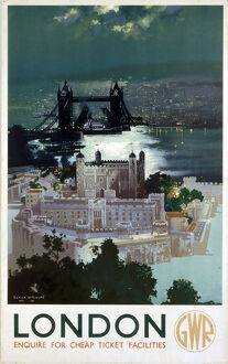'London', GWR poster, 1938.