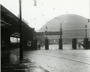 Manchester Central station, Cheshire Lines Committee, 29 October 1929. View of the