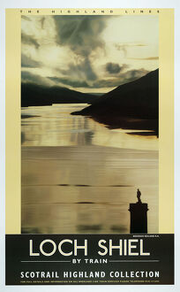 Poster, ScotRail, The Highland Lines