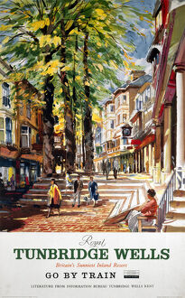 'Royal Tunbridge Wells', SR poster, c 1950s.