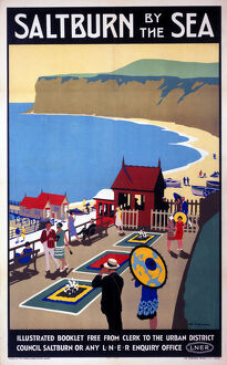 'Salturn-by-the-Sea', LNER poster, 1923-1929.