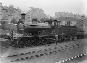 South Eastern and Chatham Railway (SECR) 4-4-0 locomotive no. 680 class G
