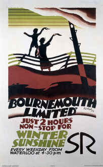 SR poster. 'Bournemouth Limited' - Just 2 H