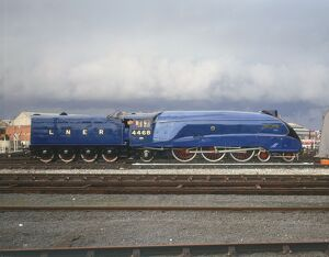 On Sunday 3rd July 1938, Mallard raced past Little Bytham at 123 mph (198 kmh), then