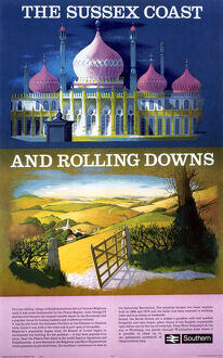 'The Sussex Coast and Rolling Downs'.