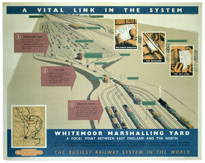 'A Vital Link in the System', BR poster, 1948-1965.