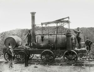 'Wylam Dilly', with its sister locomotive 'Puffing Billy', is the