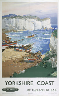 'Yorkshire Coast', BR poster, 1948-1965.