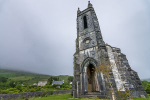 The abandoned Dunlewey Church