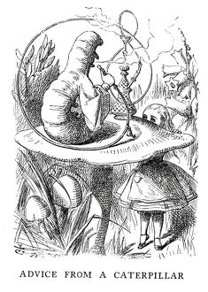 Alice in Wonderland - Advice from a Caterpillar