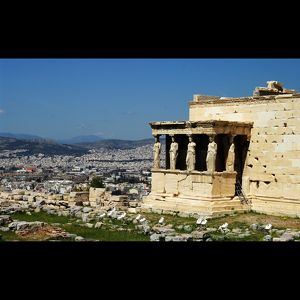 Athens from Akropolis