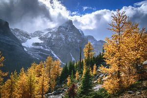travel/unesco world heritage/autumn colors rocky mountains haddo peak banff
