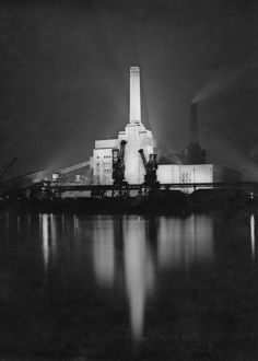 Battersea Power Station Night View