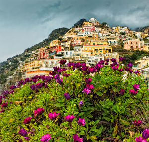 Beautiful town of Positano, Italy