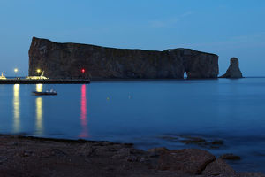 Blue hour in Perce - Gaspesie