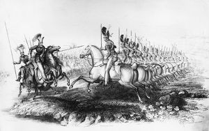 Cavalry At Waterloo