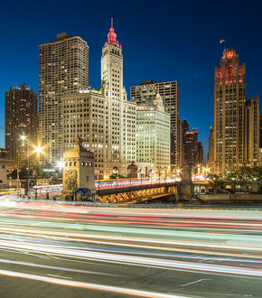Chicago Architecture and Night Trails