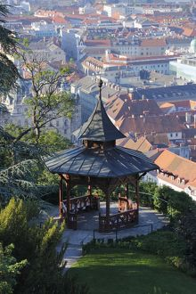 travel/photographer collections martin siepmann/chinese pavilion schlossberg castle hill graz