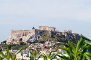 City of Athens and Acropolis Citadel, Athens, Greece