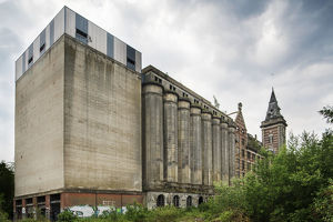 disused flourmill in north of France