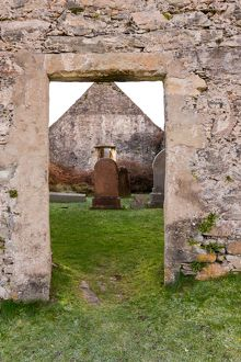 Doorway to Cill Chriosd - Christ's Church or Kilchrist