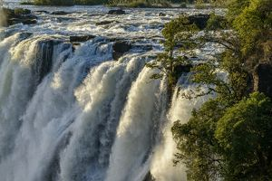 The Eastern Cataract. Victoria Falls. Livingstone. Zambia