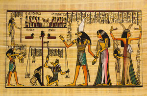 Egyptian ancient papyrus