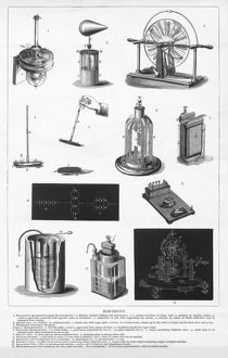 Electricity, Engraving, 1892