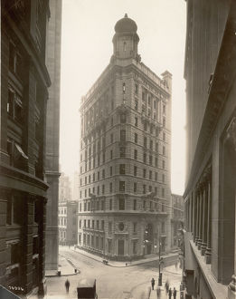 Elias F. Noyes Building In New York Financial District