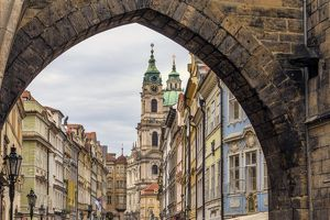 The Entrance to Prague's Lesser Town