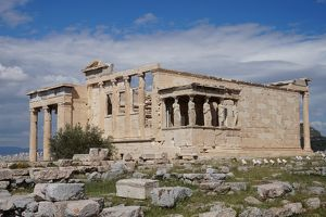 Erechtheion Temple, Stones, Athens, Greece