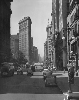 Fifth Ave. and the Flatiron Bldg