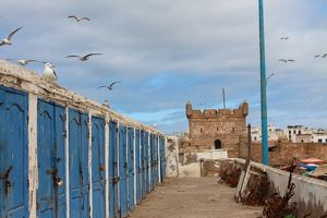 travel/unesco world heritage/fishermens huts genoese built citadel essaouira