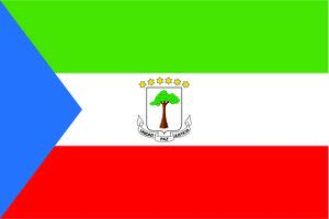 magical world illustration/flags world/flag equatorial guinea