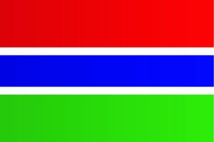 magical world illustration/flags world/flag gambia