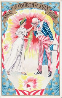 Fourth Of July And Uncle Sam