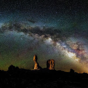 Below the Galaxy at Balanced Rock