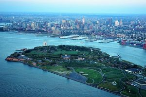 Governors Island and Brooklyn New York