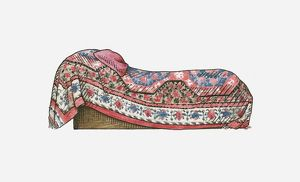 Illustration of Sigmund Freud's historic couch