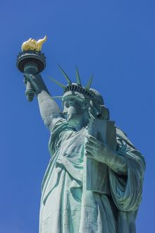 Liberty Island, the Statue of Liberty