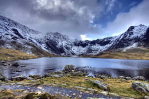 Llyn Idwal Lake, Snowdonia National Park