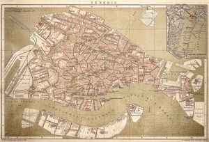Map of Venice 1898