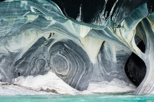 Within the Marble Caves of Northern Patagonia