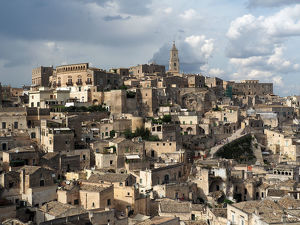 Matera City Center, Basilicata, Southern Italy, UNESCO World Heritage Site