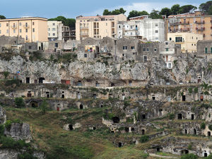 architecture/derelict buildings/matera old new unesco world heritage site southern